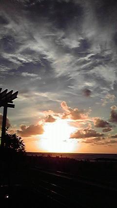 BALIの夕日